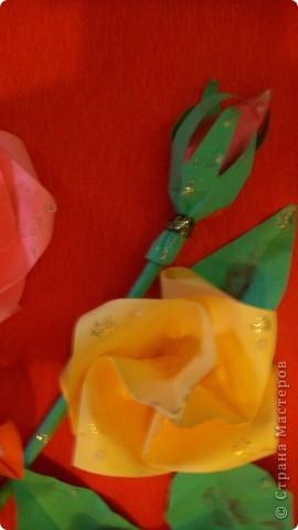 картина из роз фото 5