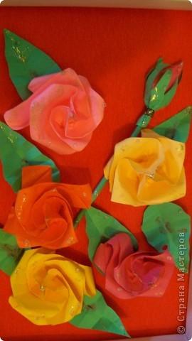 картина из роз фото 6