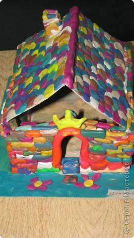Сказочные замки  от моих первоклашек фото 3