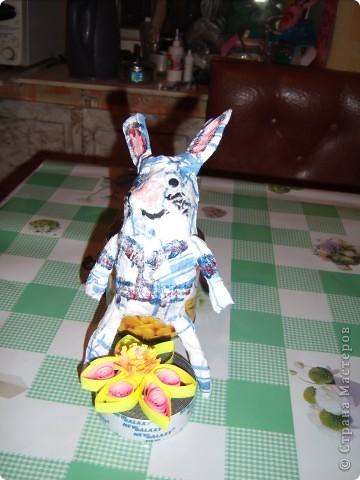 Моя первая попытка создать зайца. Домашние плакали. ))) фото 2