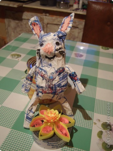 Моя первая попытка создать зайца. Домашние плакали. ))) фото 3