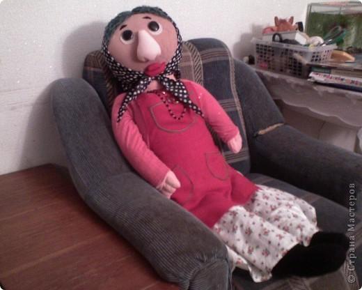 Бабушка-Варварушка.