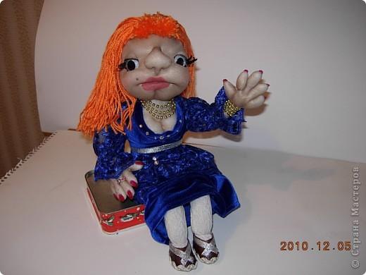 Кукла АНЖЕЛЛА фото 3