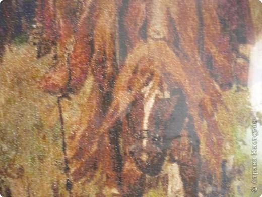 """Репродукция картины Виктора Васнецова """"Богатыри"""", размер 118х90 см фото 4"""