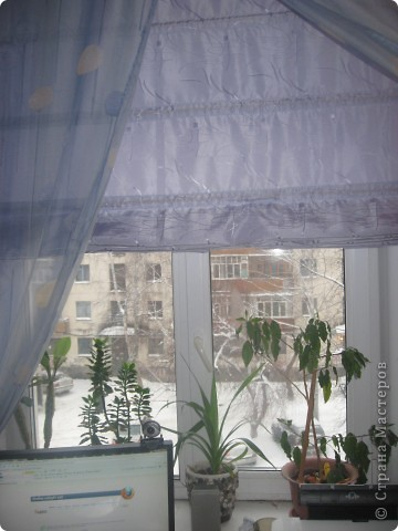 Римская штора своими руками фото 2