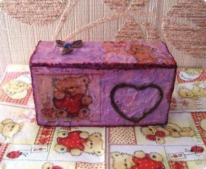 Эта коробочка сделана из упаковки от пакетированного чая фото 1