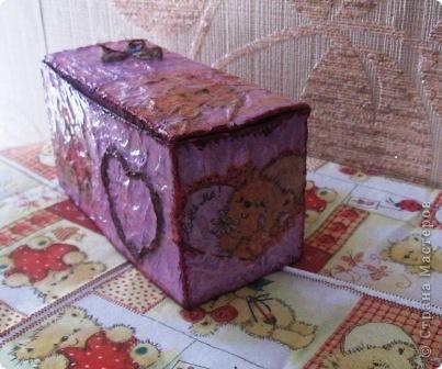 Эта коробочка сделана из упаковки от пакетированного чая фото 2