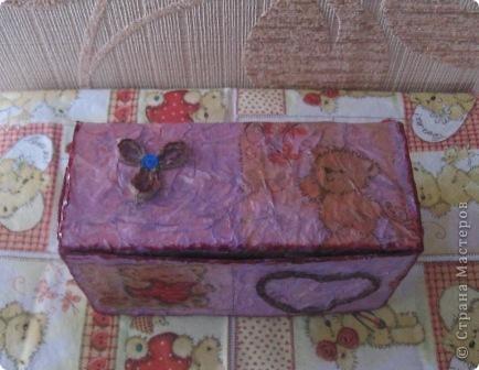 Эта коробочка сделана из упаковки от пакетированного чая фото 3