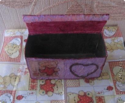 Эта коробочка сделана из упаковки от пакетированного чая фото 4