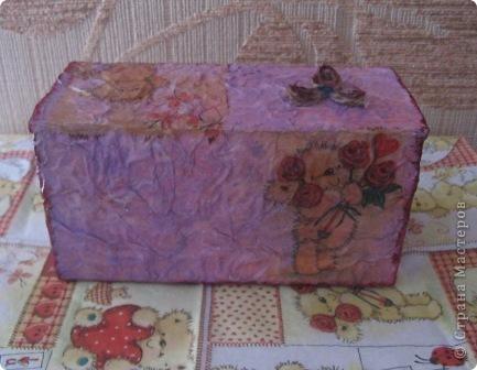 Эта коробочка сделана из упаковки от пакетированного чая фото 5