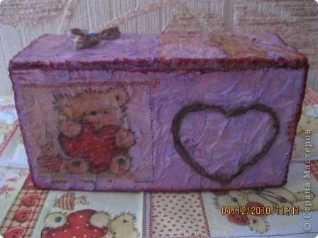 Эта коробочка сделана из упаковки от пакетированного чая фото 6