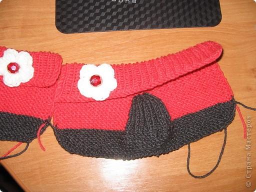 Связала в подарок для новорожденной девочки по мастер - классу, который представила MarinaKlin http://stranamasterov.ru/node/56875  Надеюсь малышка будет носить с удовольствияем. фото 6