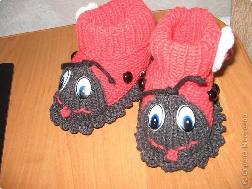 Связала в подарок для новорожденной девочки по мастер - классу, который представила MarinaKlin http://stranamasterov.ru/node/56875  Надеюсь малышка будет носить с удовольствияем. фото 10