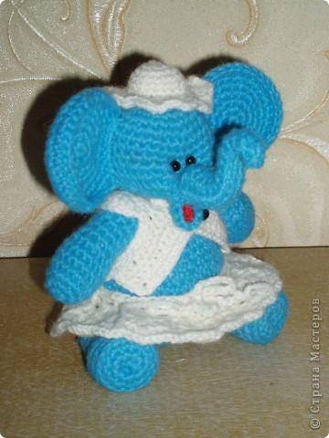 Слоненок амигуруми фото 4