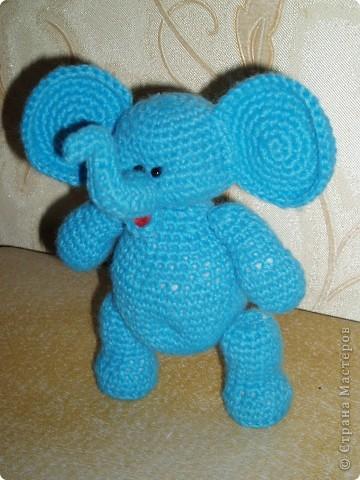 Слоненок амигуруми фото 5