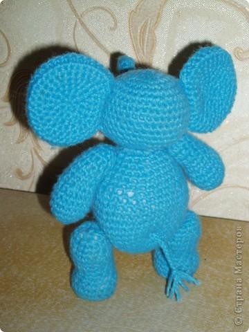 Слоненок амигуруми фото 6