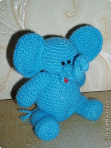 Слоненок амигуруми фото 7