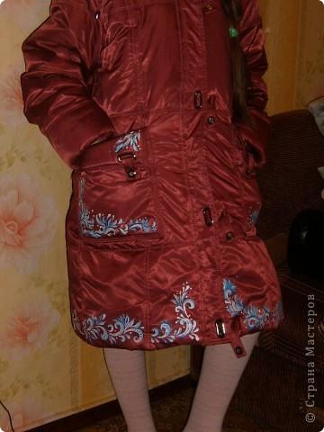обновление прошлогоднего , детского пальто фото 1