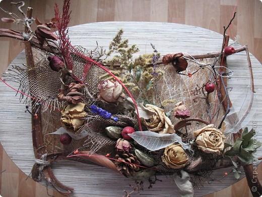 Изделия из сухоцветов своими руками 11