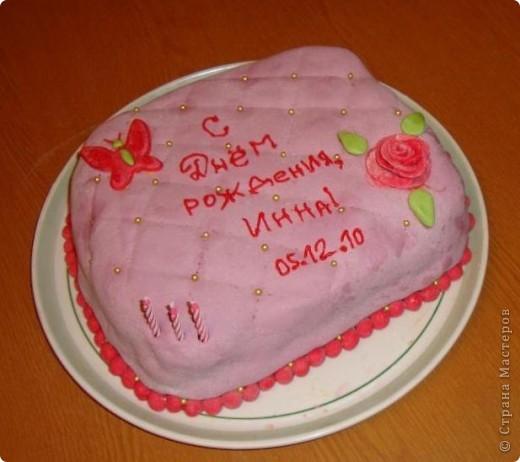 Делала ко дню рождения тортик, решила поснимать процесс. А так как готовки было очень много, тортик вышел простенький и быстрый. Сделать такой можно буквально за час. фото 1
