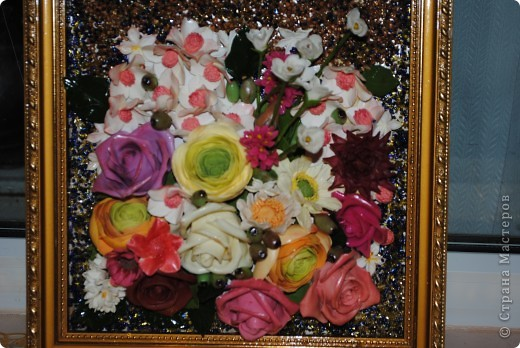 Картина панно рисунок Лепка картина и рецепт фарфора с восковым пластилином Фарфор холодный фото 1