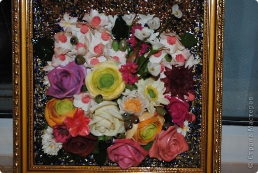 картина из цветов, которых было лень доводить до ума фото 1