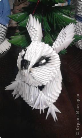 Новогодний кролик Бумага