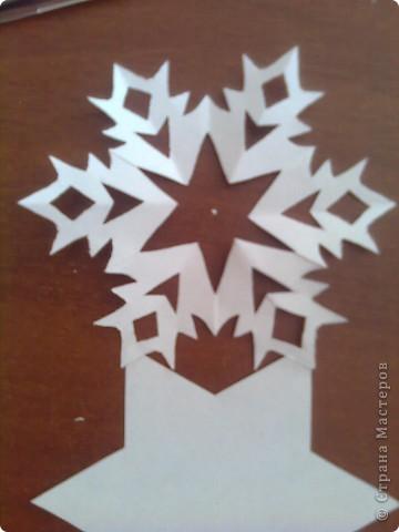 Недавно я загрузила фото снежинок http://stranamasterov.ru/node/119550 и поступило предложение сделать мастер-класс. Исполняю обещание. фото 16