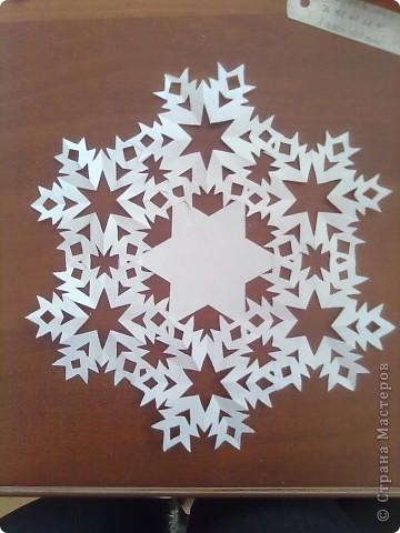 Недавно я загрузила фото снежинок http://stranamasterov.ru/node/119550 и поступило предложение сделать мастер-класс. Исполняю обещание. фото 1