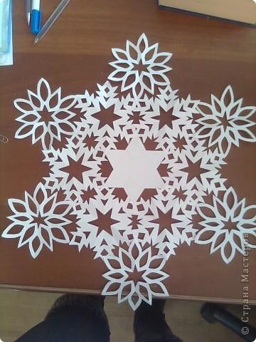 Недавно я загрузила фото снежинок http://stranamasterov.ru/node/119550 и поступило предложение сделать мастер-класс. Исполняю обещание. фото 19