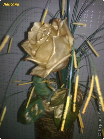 Вот такая золотая роза... фото 1
