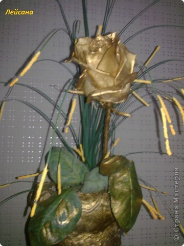 Вот такая золотая роза... фото 4