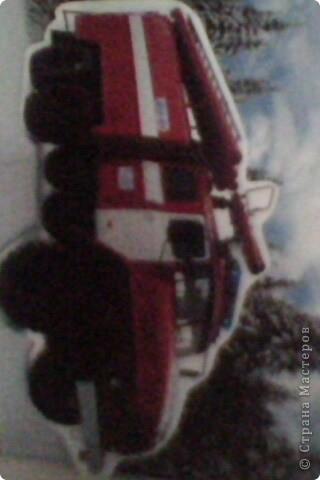 Это панно я сделала на память пожарным ПЧ-45. фото 3