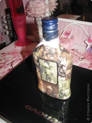 Новогодняя бутылочка 4. Подарок фото 3