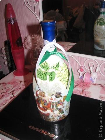 Новогодняя бутылочка 2. Подарок фото 1