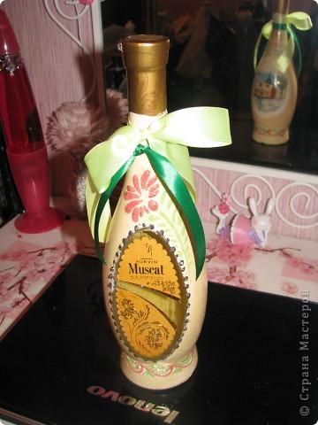 Новогодняя бутылочка 3. Подарок фото 1
