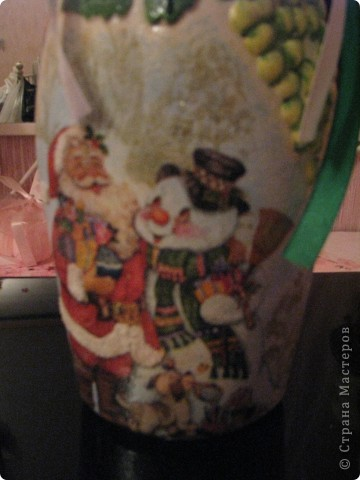 Новогодняя бутылочка 2. Подарок фото 2
