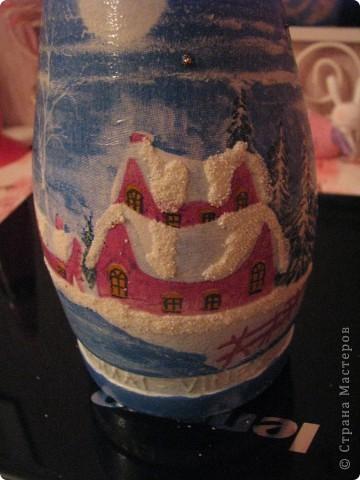 Новогодняя бутылочка. Подарок фото 4