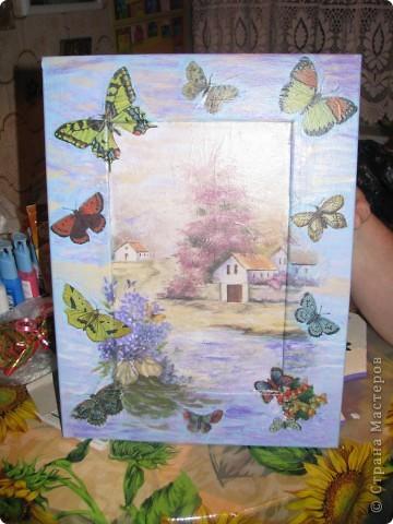 Картина. Бабочки фото 1