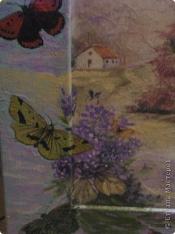 Картина. Бабочки фото 2