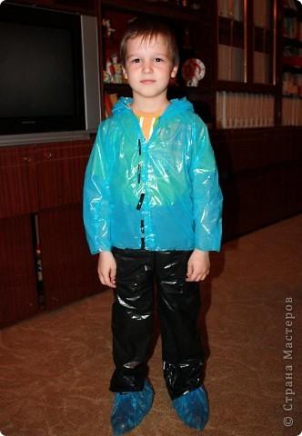 Дочь Маруся в костюме Нюши из Смешариков. Делала из папье-маше, шляпа украшена в технике торцевания. фото 3
