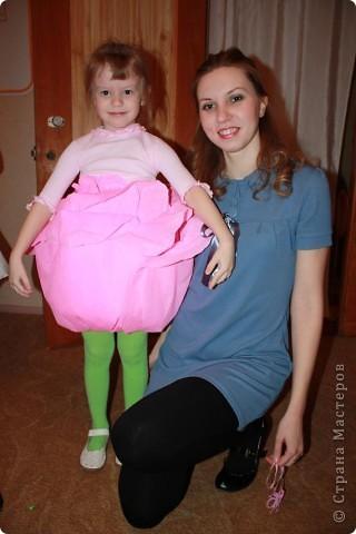 Дочь Маруся в костюме Нюши из Смешариков. Делала из папье-маше, шляпа украшена в технике торцевания. фото 6