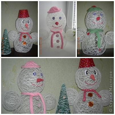 Наши снеговички фото 1