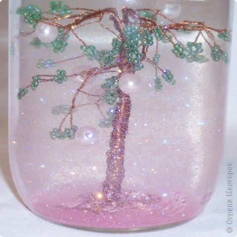 Я решила сделать Новогоднее дерево, т.к. сейчас зима и приближается Новый год. Это дерево я сделала на примере вот этого http://stranamasterov.ru/node/116740 . фото 3