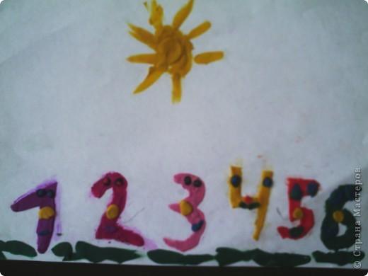 Вот такие цифры, вернее их образы, мы сделали с первоклассниками. фото 12