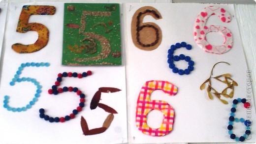 Вот такие цифры, вернее их образы, мы сделали с первоклассниками. фото 4