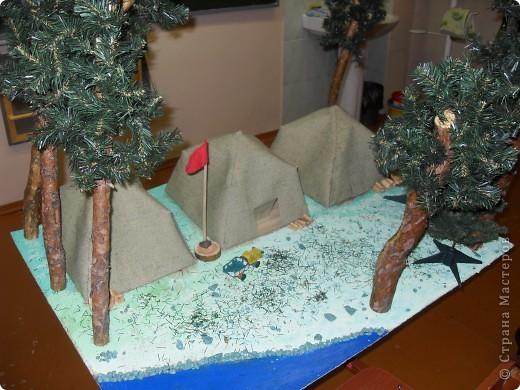 Готовим каркасы для палаток. фото 23