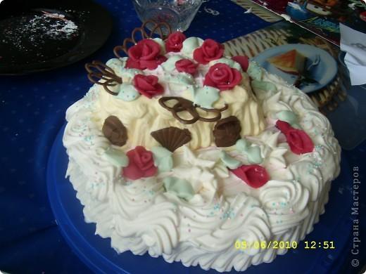 торт для подруги бисквит сливки