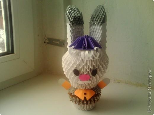 Зайчонок в кепке