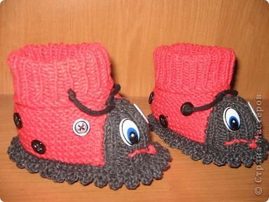 Связала в подарок для новорожденной девочки по мастер - классу, который представила MarinaKlin http://stranamasterov.ru/node/56875  Надеюсь малышка будет носить с удовольствияем. фото 15